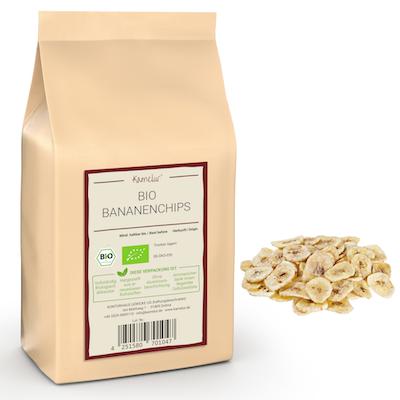 Bio Bananen Chips von Kamelur