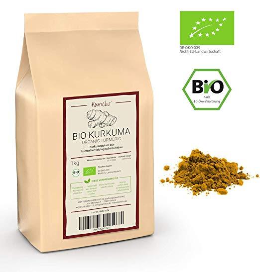 Kurkumapulver in bester Bio-Qualität kaufen | Kamelur®