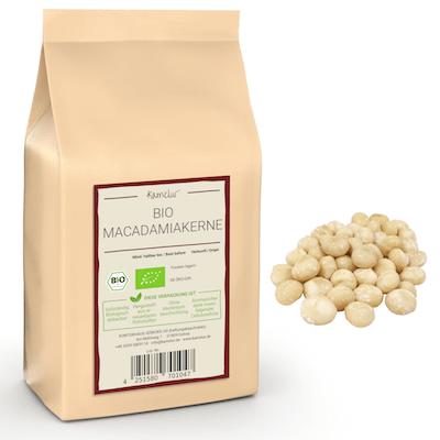 Bio Macadamia Nüsse ungeröstet und ohne Zusätze