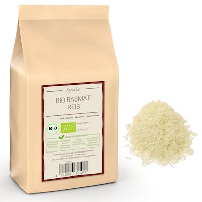 Bio Basmati Reis geschält