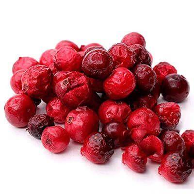 Bio Cranberries, gefriergetrocknet