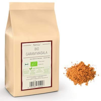 Unser Garam Masala aus Gewürzen in bester Bio-Qualität