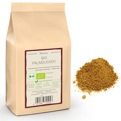 Bio Palmzucker aus dem Nektar der Arenga Palme
