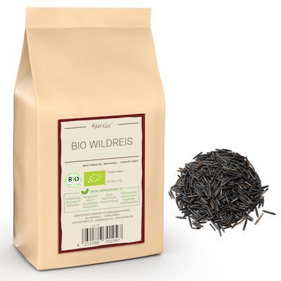 100% wilder Reis in Bio-Qualität