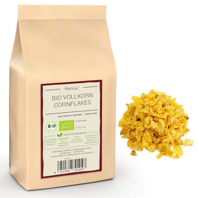 Vollkorn Cornflakes Bio ohne Zusätze von Kamelur